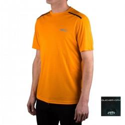 +8000 Camiseta Draco 20V Mango Naranja Hombre