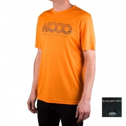+8000 Camiseta Walk 20V Mango Naranja Hombre