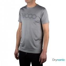 +8000 Camiseta Wanted 20V Gris Medio Vigore Hombre