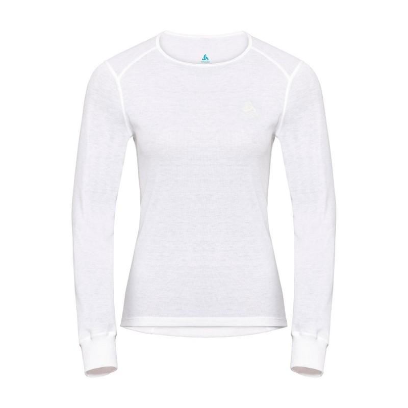 Odlo Camiseta Interior Active Warm Blanco Mujer