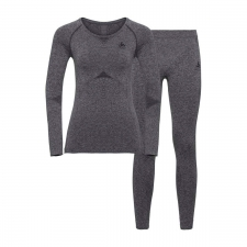 Odlo Conjunto Interior Performance Light Gris Mujer