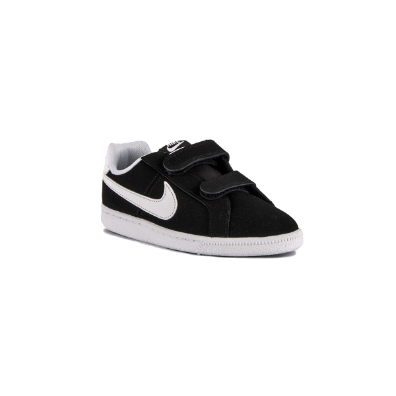 Nike Court Royale TDV Obsidian Black White Negro Blanco Bebe