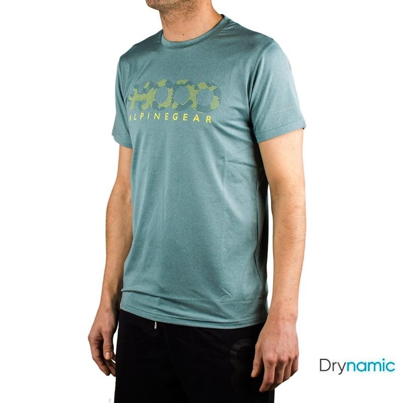 +8000 Camiseta Wanted 20V Verde Agua Vigore Hombre