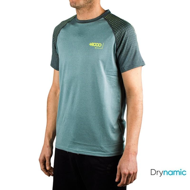 +8000 Camiseta Wash 20V Verde Agua Vigore Hombre