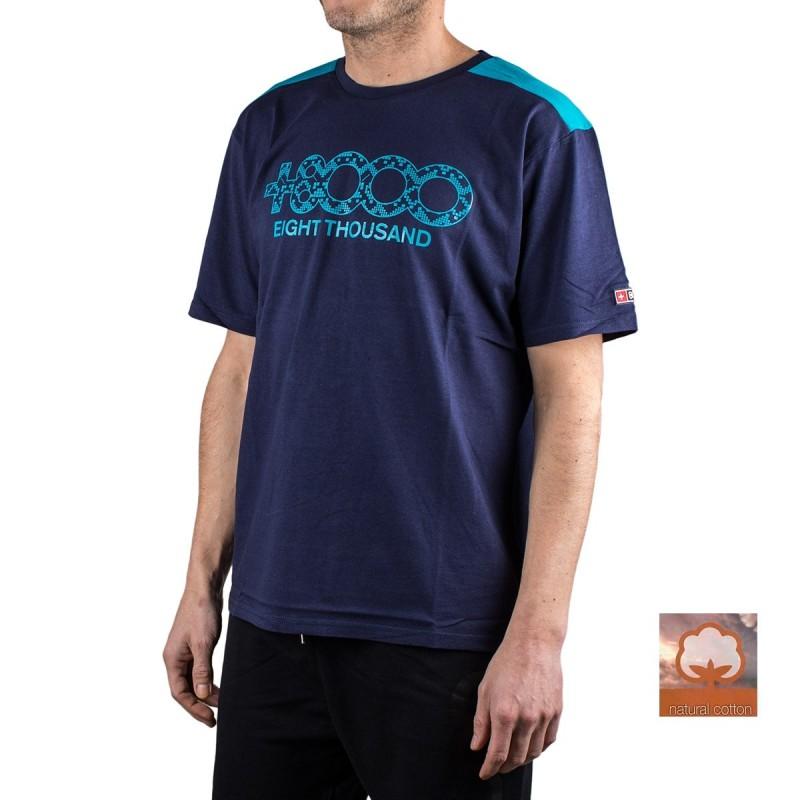 +8000 Camiseta Debby M 20V Azul Lavado Hombre
