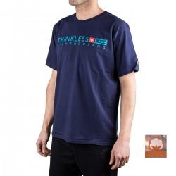 +8000 Camiseta Descon 20V Azul Lavado Hombre