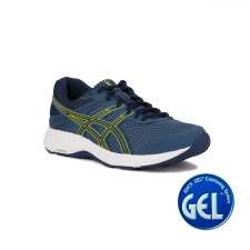 Asics Gel Contend 6 Grand Shark Vibrant Yellow Hombre