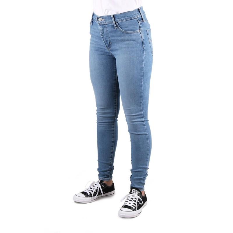 Levis Pantalón 720 High - Rise Super Skinny Azul Claro Mujer