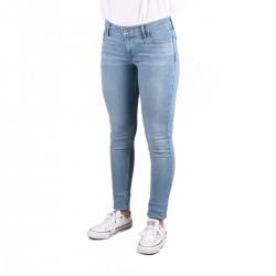 Levis Pantalón Mile High Super Skinny Azul Claro Mujer