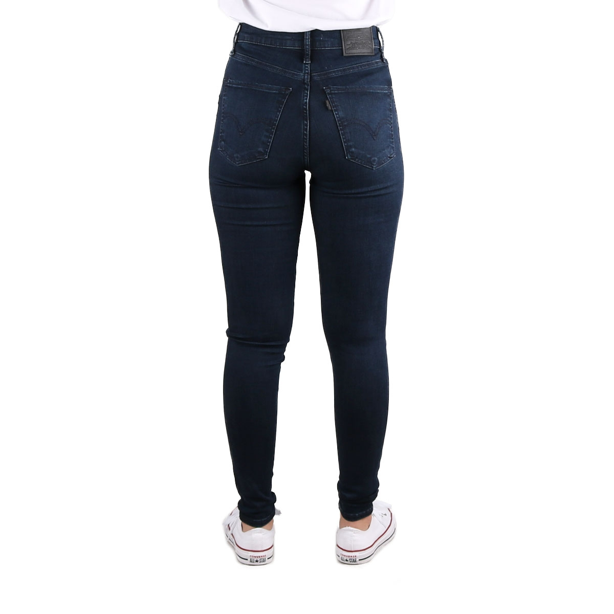 Levis Pantalón Mile High Super Skinny Azul Oscuro Mujer