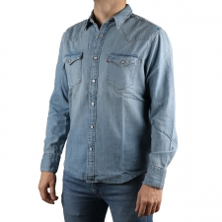 Levis Camisa Vaquera Bo Blouse Color Azul Hombre