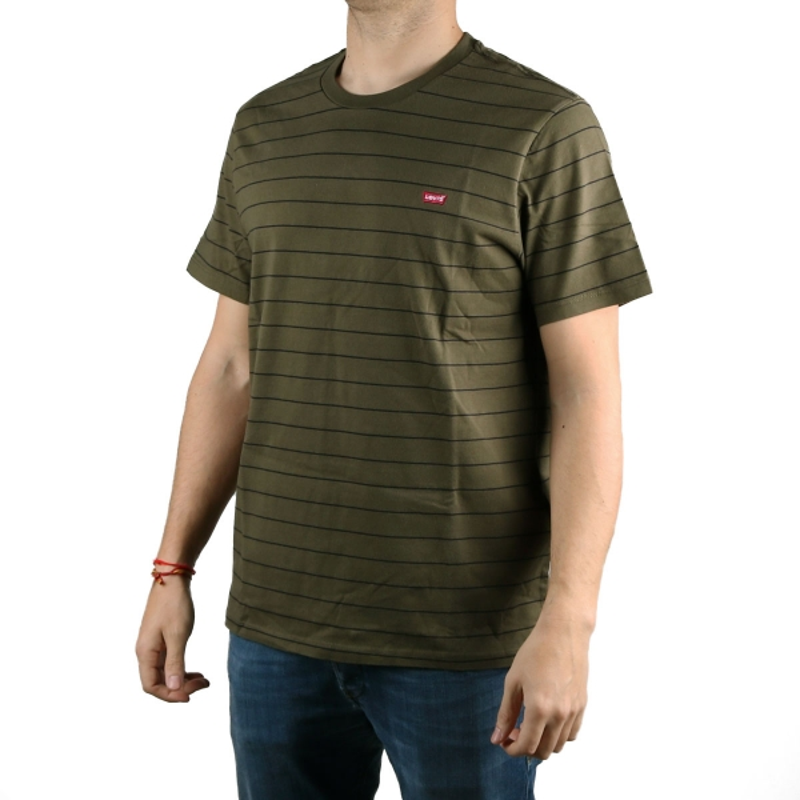 Levis Camiseta Caqui Tee Hombre