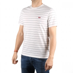 Levis Camiseta The Original Tee Logo Classic Dark Slate Blanco Hombre