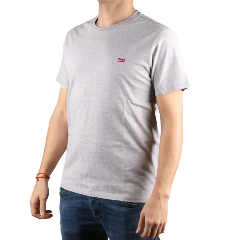 Levis Camiseta The Original Tee Logo Classic Gris Hombre