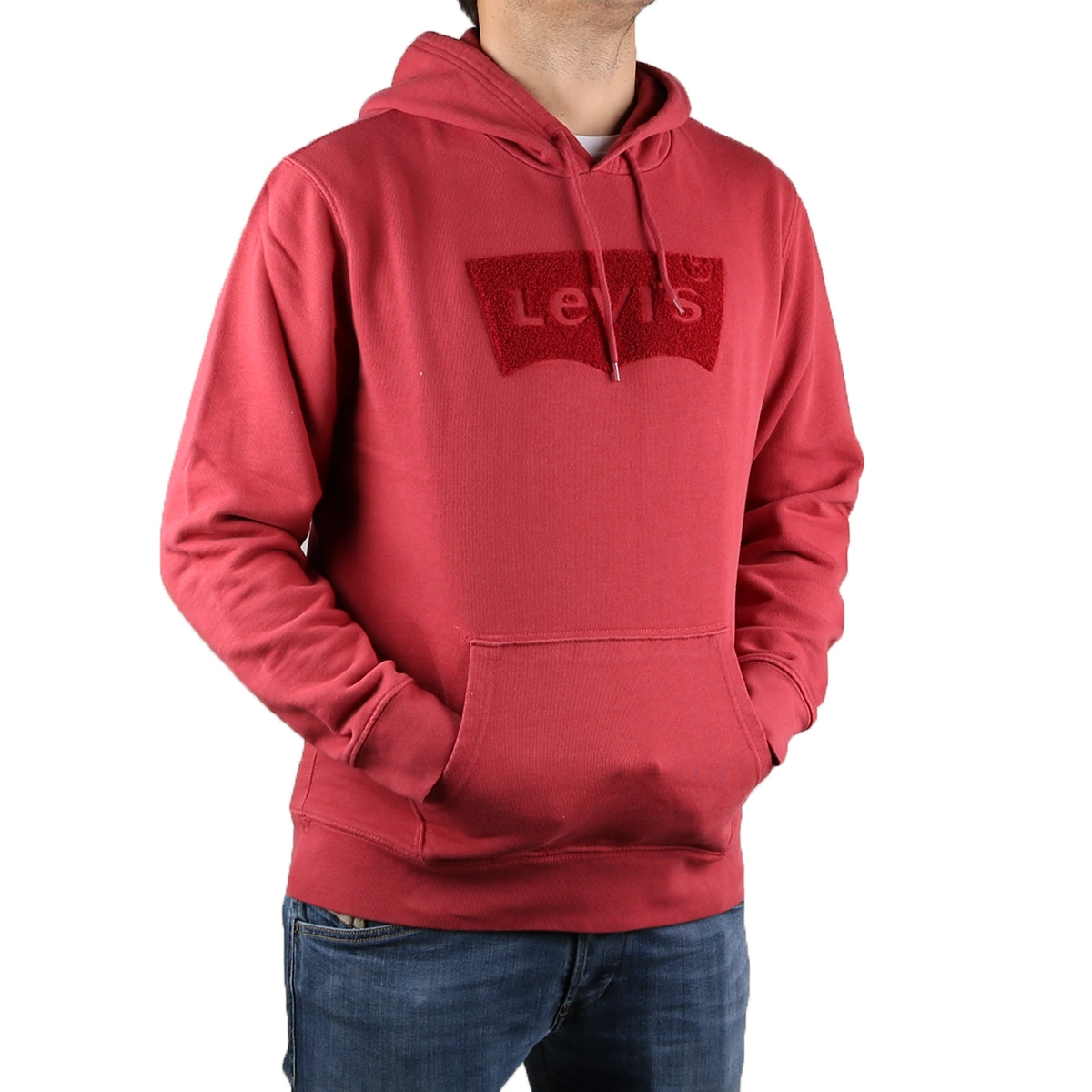 Levis Sudadera The Graphic Hoodie Red Rojo Hombre