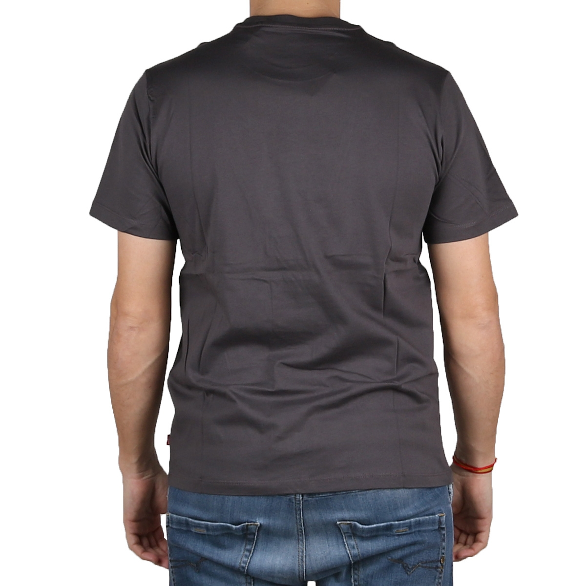 Levis Camiseta Graphic Tee Housemark BLACK - SSNL FORGE IRON Gris Negro Hombre