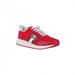 Tommy Hilfiger Zapatillas Th Flex Blush Red Rojo Mujer