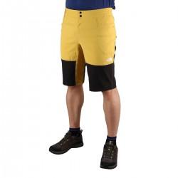 The Nort Face Short Climb Bamboo Yellow Black Amarillo Negro Hombre