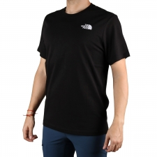 The North Face Camiseta Redbox Black Negro Rojo Hombre