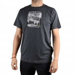 Trangoworld Camiseta Neru Sombra Oscura Gris verdoso Hombre