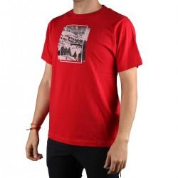Trangoworld Camiseta Neru Rojo Oscuro Hombre