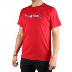 Trangoworld Camiseta Watercolour Rojo Hombre