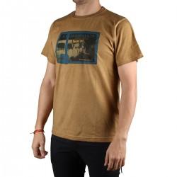 Trangoworld Camiseta Ornia Marrón Topo Hombre