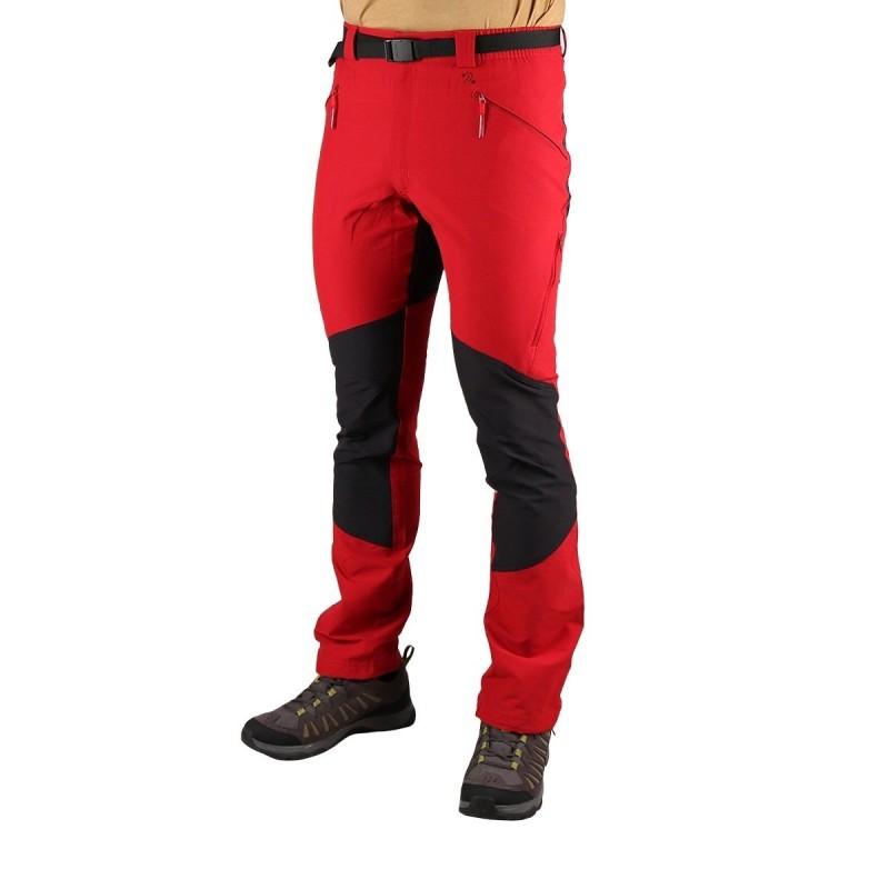Trangoworld Pantalón Mattha Vt Rojo Oscuro Negro Hombre