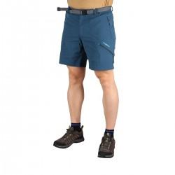 Trangoworld Pantalón Corto Limut Dn Azul Cerámica Hombre