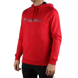 Trangoworld Sudadera Watercolour Rojo Hombre