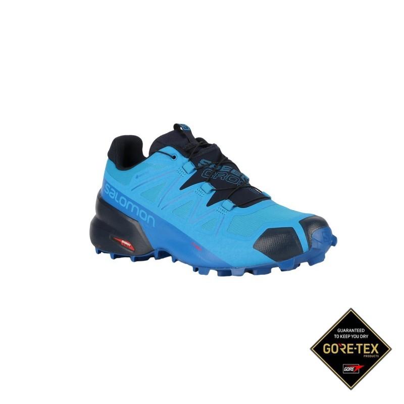 Salomon Zapatilla Speedcross 5 GTX Blue Aster Lapis Navy Blazer Azul Hombre