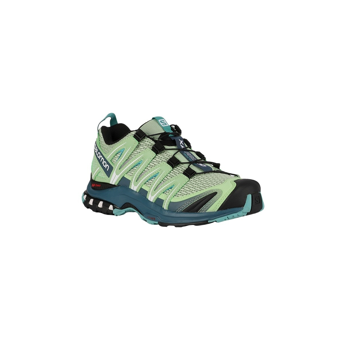 Salomon Zapatilla XA PRO 3D W Spruce Stone Indian Teal Meadowbrook Verde Mujer