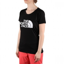 The North Face Camiseta Easy Black Negro Mujer