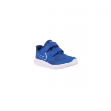 Nike Star Runner 2 TDV Game Royal Metallic Silver Azul Niño