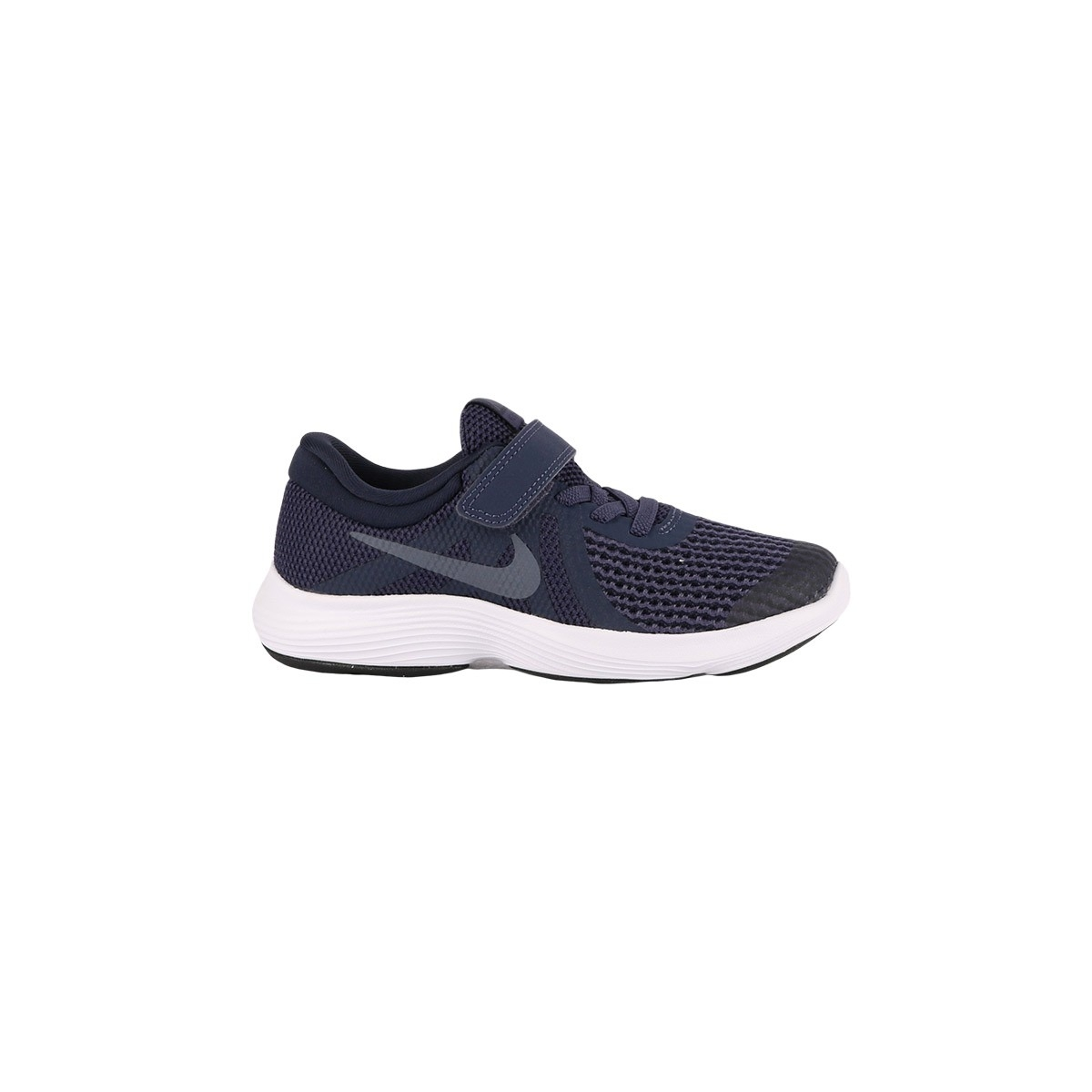 Nike Revolution 4 PSV Neutral Indigo Light Carbon Azul Marino Niño