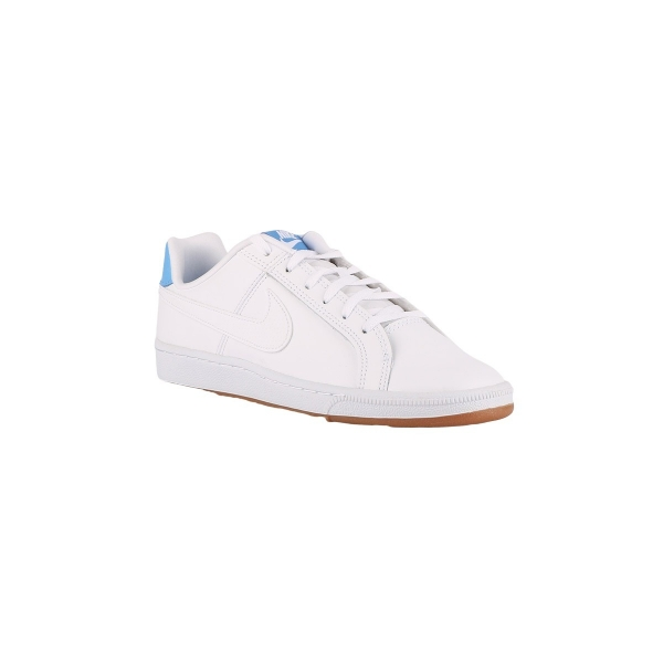 Nike Court Royale GS White University Blue Blanco Azul Celeste Niño