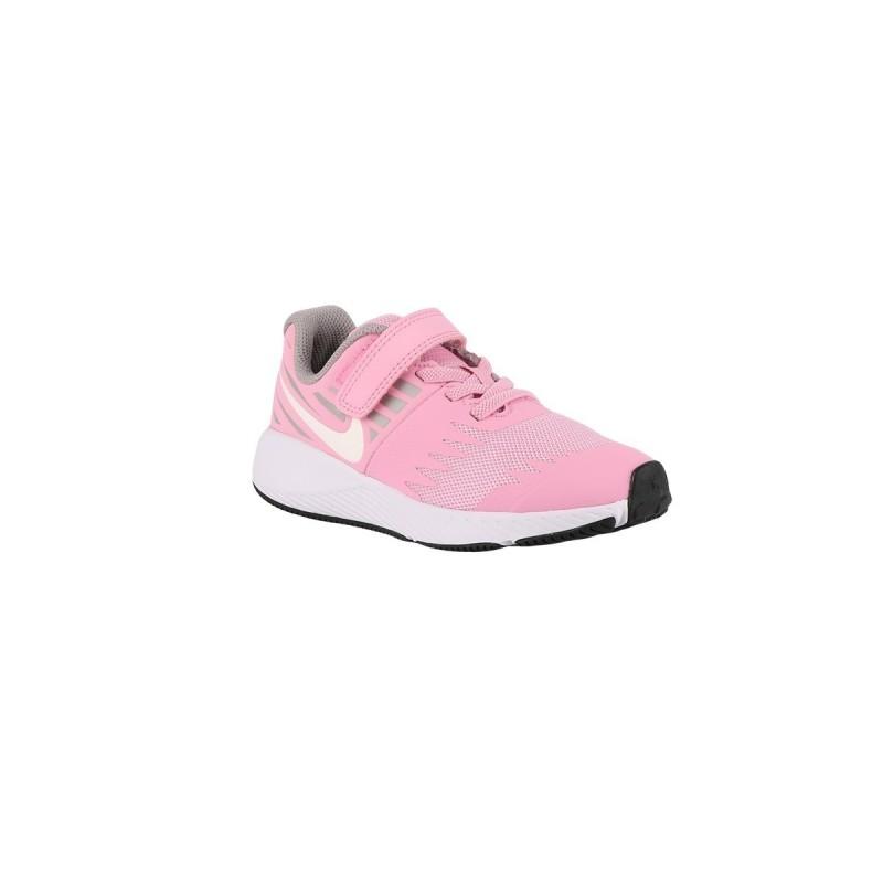 Nike Star Runner PSV Pink Rise White Rosa Pastel Niño