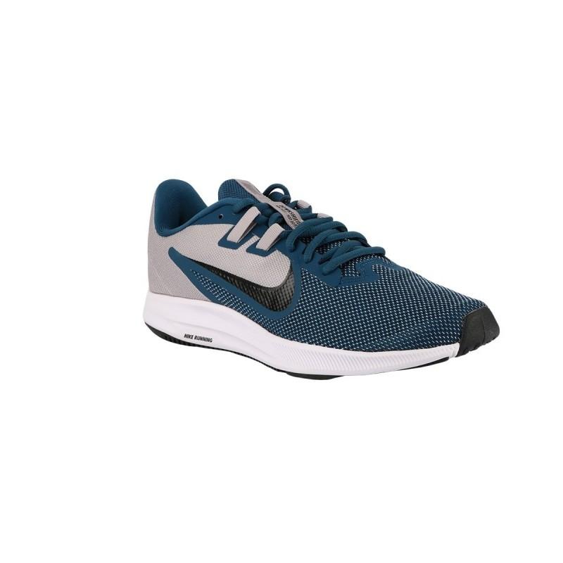 Nike Zapatillas Downshifter 9 Atmosphere Grey Black Hombre