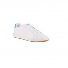 Nike Zapatillas Court Royale White University Blue Blanco Azul Celeste Hombre