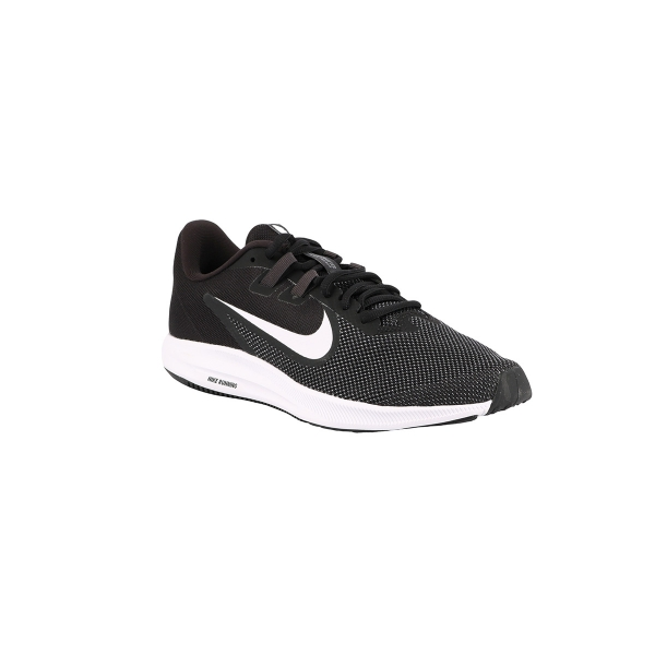 Nike Zapatillas Downshifter 9 Black White Antracite Negro Hombre