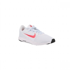 Nike Zapatillas Wmns Downshifter 9 White Red Orbit-Half Blue Blanco Rojo Mujer