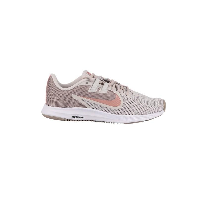Nike Zapatillas Wmns Downshifter 9 Vast Grey Rust Pink Pumice Mujer