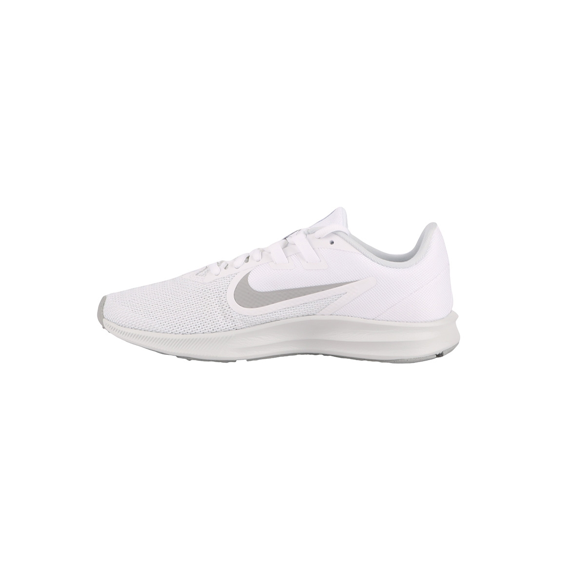 Nike Zapatillas Wmns Downshifter 9 White Wolf Grey Blanco Mujer