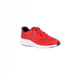 Nike Star Runner 2 GS University Red Black Volt Rojo Niño