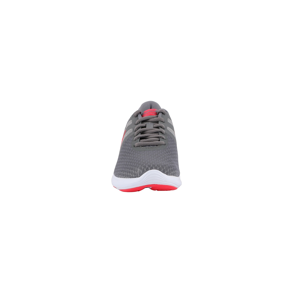 Nike Wmns Revolution 4 EU Cool Grey Red Orbit Gris Rojo Mujer