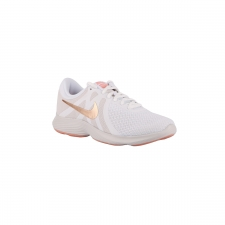 Nike Wmns Revolution 4 EU White Metallic Red Bronze Blanco Mujer