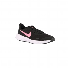 Nike Revolution 5 GS Black Sunset Pulse Negro Rosa Niño
