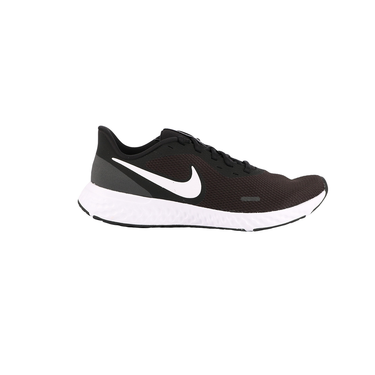 Nike Revolution 5 Black White Anthracite Negro Blanco Hombre