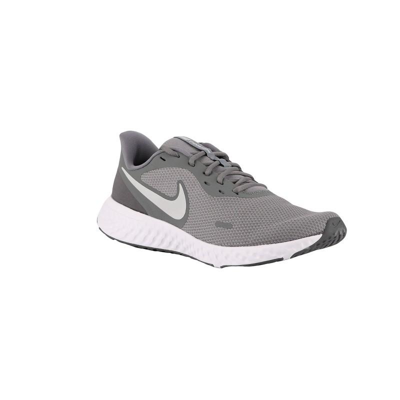 Nike Revolution 5 Cool Grey Pure Platinum Gris Blanco Hombre
