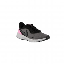 Nike Revolution 5 wmns Black Psychic Pink Gris Rosa Mujer